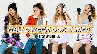 LAST MINUTE *really Easy* HALLOWEEN COSTUME IDEAS | Riverdale, Grease, Stranger Things + More!