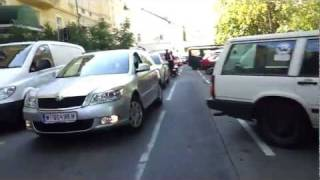 preview picture of video 'Radfahren in Wien - Horror in Hietzing'