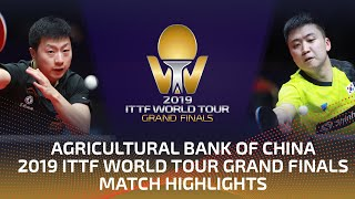 Ma Long vs Jeoung Youngsik | 2019 ITTF World Tour Grand Finals Highlights (R16)