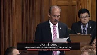 Jati Sidhu – Member's Statement – November 28, 2016