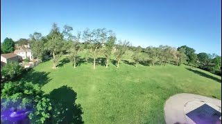 Insta360 GO (FPV Mode) on 3S Quadcopter