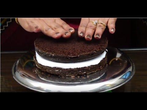 Video Black Forest Cake in hindi क्रिसमस स्पेशल ब्लेक फोरेस्ट केक