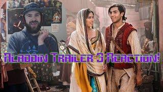 Aladdin Trailer 3 Reaction!