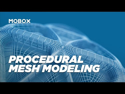 Abstract Mesh Fractal Array – Cinema 4D Tutorial
