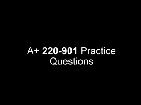 A+ Practice test questions for 220-901 Session 2 - YouTube