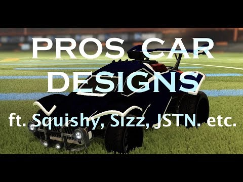 Rocket League Pros Car Designs 1 Ft Jknaps Squishy Sizz Etc