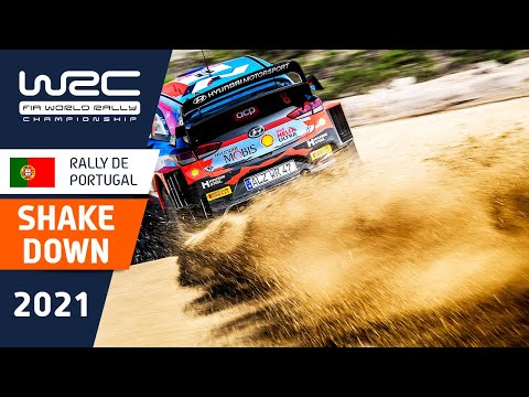 WRC 2021 第4戦ラリー・ポルトガル シェイクダウンハイライト動画