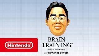 Brain Training Del Dr. Kawashima Per Nintendo Switch - Trailer Di Lancio