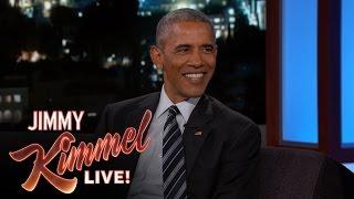 President Obama Laughs at Trump