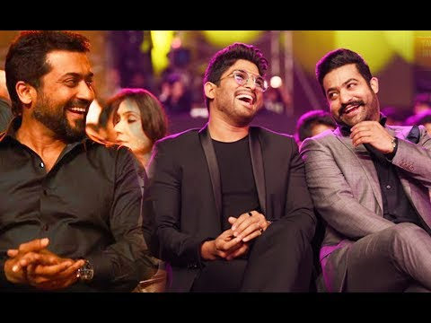 Download Allu Arjun, Jr.Ntr & Suriya Speech 64th Jio Filmfare Awards South 2017 Review By Selfie Queen HD Mp4 3GP Video and MP3