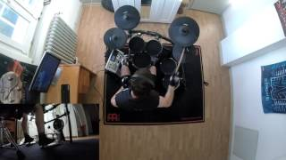 Anthrax: Fight ´Em ´Til You Can´t/Earth On Hell - NEW multi angles drum cover by Fabrice Goddi