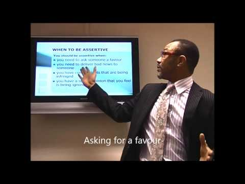 Assertiveness Training Video - How to be more assertive - YouTube