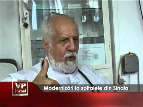 Modernizări la spitalele din Sinaia