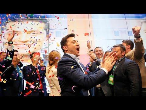 Ουκρανία: Nικητής ο κωμικός Βολόντιμιρ Ζελένσκι στις προεδρικές εκλογές …