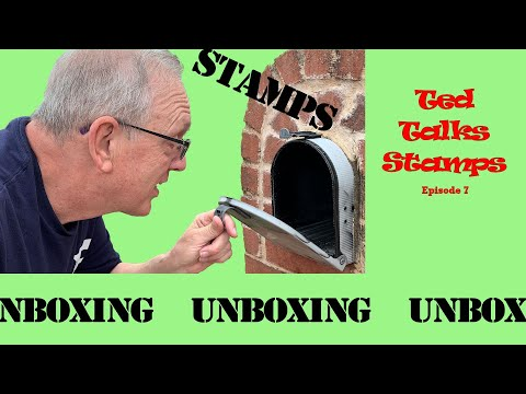 Ted talks stamps: Unboxing