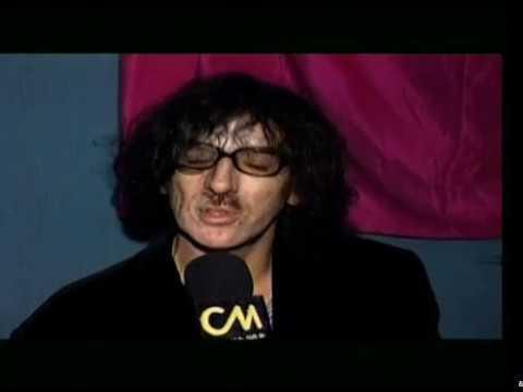 Charly García video Presenta El Aguante - Entrevista 1998