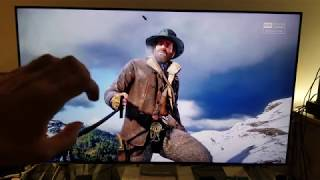 RED DEAD REDEMPTION 2 : 4K HDR Analysis from YouTube 4K HDR Video  Part 1