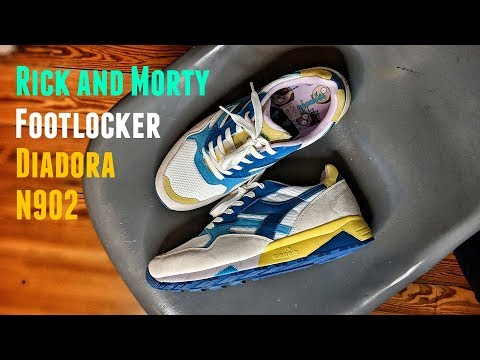 Diadora Footlocker N902 Rick and Morty Exclusive / Review & On Feet