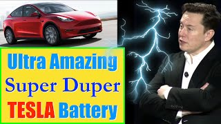 Tesla Super Batteries: Millions of Miles - Fast Charge - Light Weight