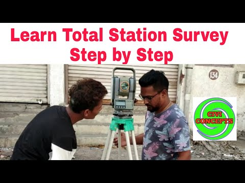 Total Station ¦¦ Step by Step learning ¦¦ Drawing Preparation(2021 ...