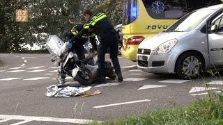 Scooterrijder gewond bij aanrijding Ringdijk Tweede Bedijking Mijdrecht