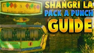 HOW TO PACK-A-PUNCH ON SHANGRI-LA REMASTERED WALKTHROUGH GUIDE (Black Ops 3 Zombies Chronicles)