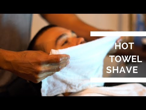 Hot Towel Shave Step By Step | straight razor shave tutorial