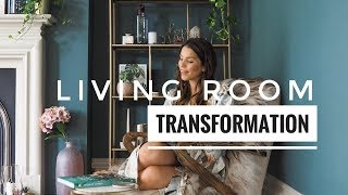 Living Room Transformation With Farrow & Ball | Ad