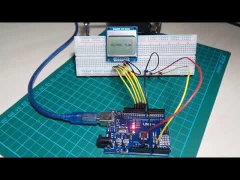 Lcd5110BareBack demo