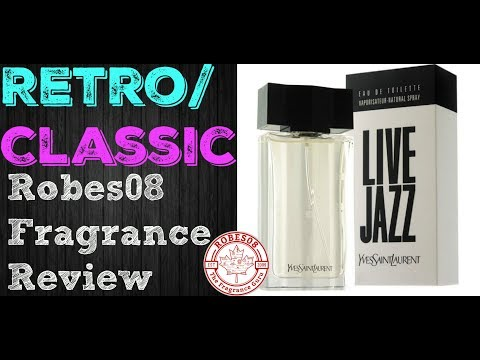 Live Jazz for Men by Yves Saint Laurent Fragrance Review (1998) | Retro Series