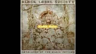 Black Label Society - Damn The Flood (Lyric Video)