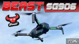 IT'S a BEAST! - ZLRC BEAST SG906 4K DRONE - REVIEW & FLIGHTS ????