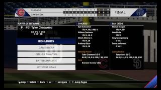 MLB: Cubs (58-36) @ Padres (44-54)