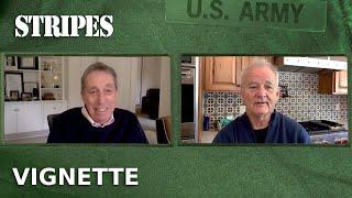 STRIPES [1981] Vignette - Bill Murray and Ivan Reitman Talk Harold Ramis