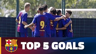 FCB Masia-Academy: Top goals 16-17 September