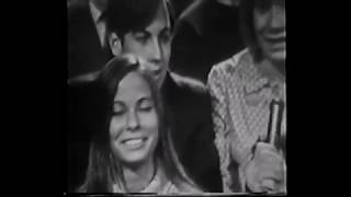 Teenagers reacting to The Beatles on American Bandstand (March 1967)