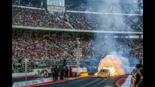preview picture of video 'NitrOlympX 2014 Hockenheim Ring - Drag Racing'