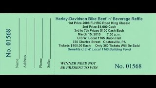 numbering raffle tickets using Word