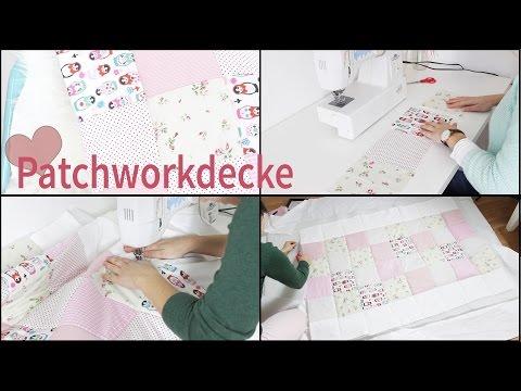 Patchworkdecke, Babydecke DIY   Lovethecosmetics
