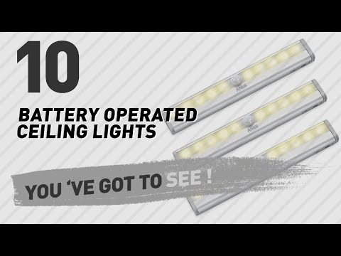 Battery Operated Ceiling Lights // New & Popular 2017