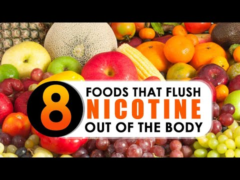 8 foods that flush nicotine out of the body | Healthfolks