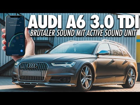 Audi A6 allroad Sounds Like RS6 Thanks to Active Sound