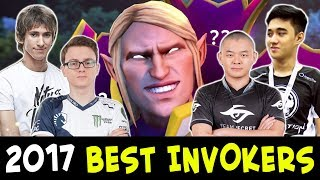 2017 BEST INVOKERS plays — Dota 2
