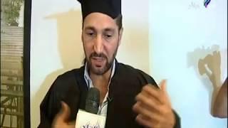 """شاهد ما حدث أثناء مناقشة رسالة ماجستير """"نصير شمّه"""" بدار الأوبرا المصرية"""