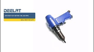 Air Rivet Nut Setter- M6, 450 RPM     SKU #D1151471