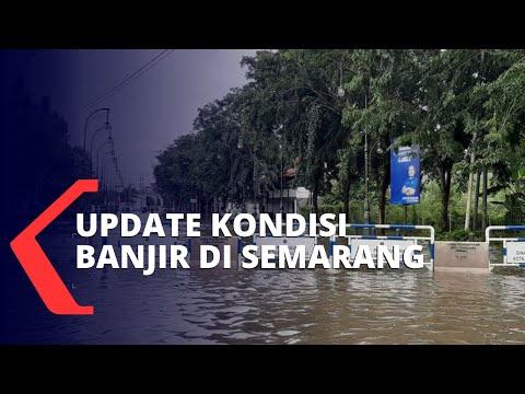 Update Kondisi Banjir di Semarang dan Stasiun Tawang