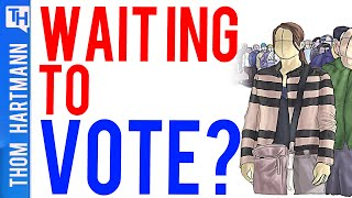 Long Lines and Broken Machines the Election Norm (w/ Sylvia Albert)