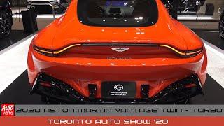2020 Aston Martin Vantage 4L V8 Twin-Turbo - Exterior Walk-Around - Toronto Auto Show 2020
