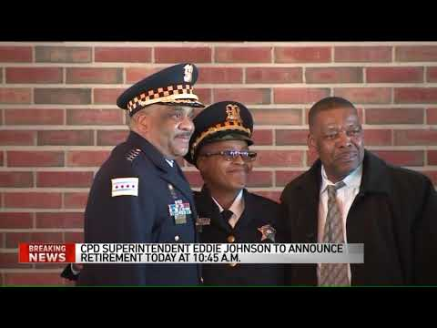 Chicago police Supt. Eddie Johnson to announce retirement today