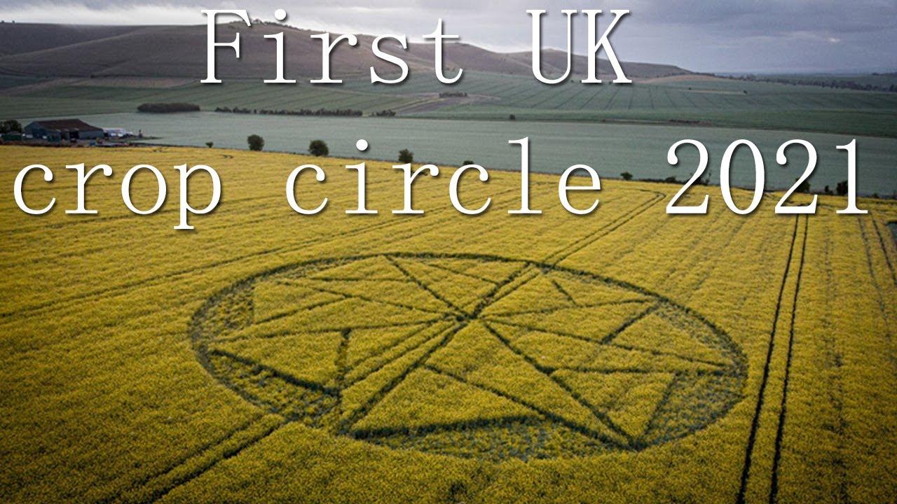Primer círculo de cultivos del Reino Unido de 2021: Wiltshire